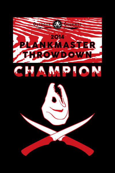 "Plankmaster Throwdown Poster 2014, 24""x36"""