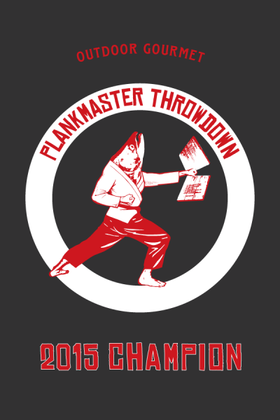 "Plankmaster Throwdown Poster 2015, 24""x36"""
