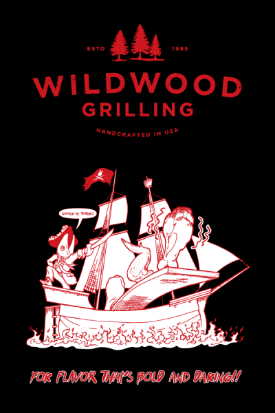 """Wildwood Grilling Poster 2016, 24""""x36"""""""