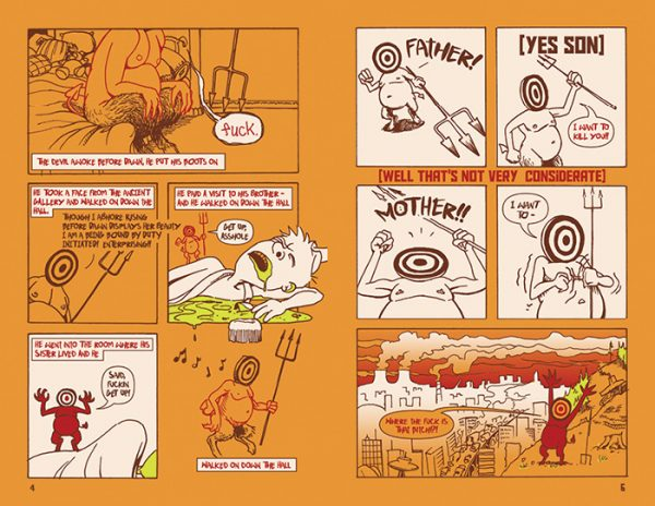 """""""Bread and Circuses"""" comic pages 4-5"""