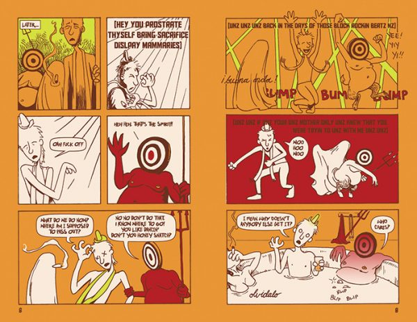 """""""Bread and Circuses"""" comic pages 8-9"""