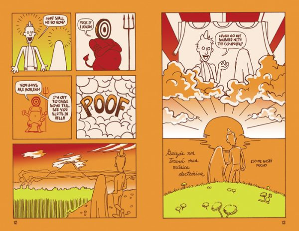 """""""Bread and Circuses"""" comic pages 12-13"""
